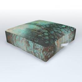 Water Art Outdoor Floor Cushion