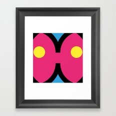 face 1 Framed Art Print