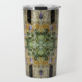 Patterned Lavender - Lavandula Travel Mug