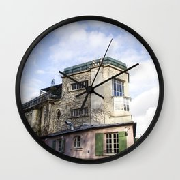 Montmartre Paris Wall Clock
