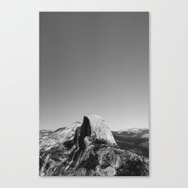 Glacier Point, Yosemite National Park Canvas Print