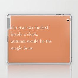 autumn is magic hour Laptop & iPad Skin