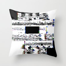 8-Bit Skull Throw Pillow