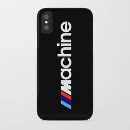 BMW Machine iPhone Case