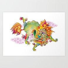 The Dream Eater Art Print