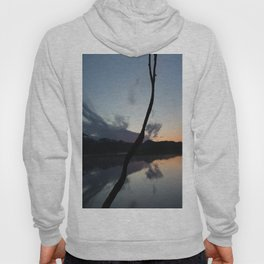 Sunset on lake, Nature Photography, Landscape Photos, sunset photos Hoody