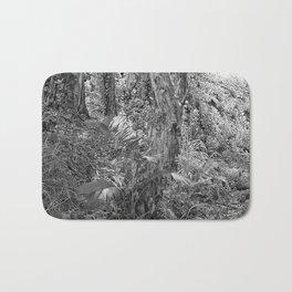Rain forest view with creek Bath Mat
