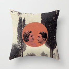 Red #1 Throw Pillow