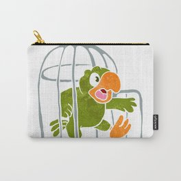 parrot out of the cage Carry-All Pouch