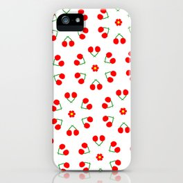 Cherry Blossoms Pattern iPhone Case