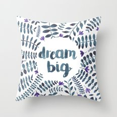Dream Big! Throw Pillow