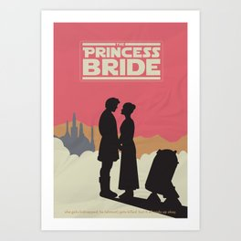 The Princess Bride Art Print