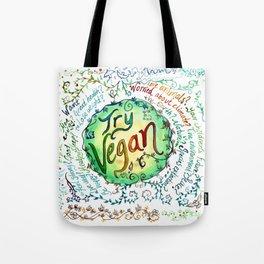 Try Vegan Tote Bag