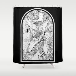 Graphics 008 Shower Curtain