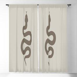 Unique Home Decor Antique Snake   Blackout Curtain