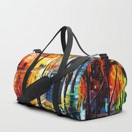 Tardis Time Starry Night Duffle Bag