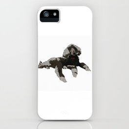 Too Cool Poodle iPhone Case