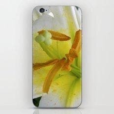 lily macro XIV iPhone & iPod Skin