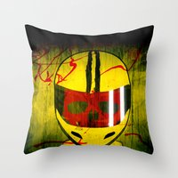 kill bill Throw Pillows featuring kill bill by MAKE ME SOME ART