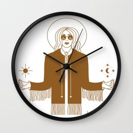 Queen of the Cosmos Wall Clock