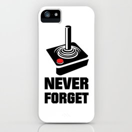 Never Forget Art iPhone Case