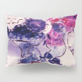 Wine & Flowers Photographic Pattern #2 Pillow Sham