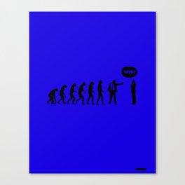 WTF? Evolution! Canvas Print
