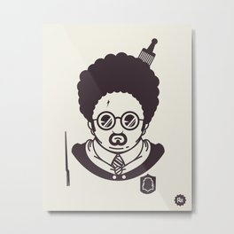 Barry Potter Metal Print