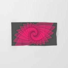 hypnotized - fluid geometrical eye shape Hand & Bath Towel