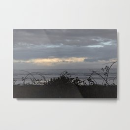 Great Stormy Clouds at the Oregon Coast Metal Print