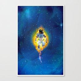 Lost Astronaut Canvas Print