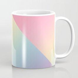 Geometric abstract rainbow gradient Coffee Mug