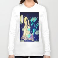 aladdin Long Sleeve T-shirts featuring Jasmine & Aladdin  by NayomiArt
