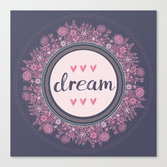 Love-Dream-Love Canvas Print