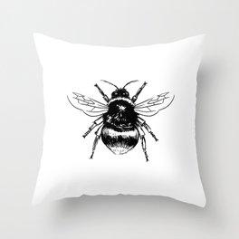 Bumble Bee Throw Pillow