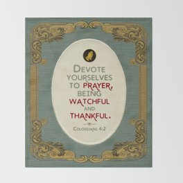Prayer Throw Blanket