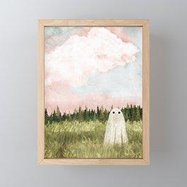 Cotton candy skies Framed Mini Art Print