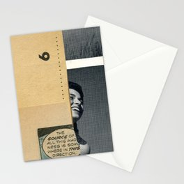 The source of madness Stationery Cards