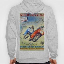 Vintage Nurburgring Poster Hoody