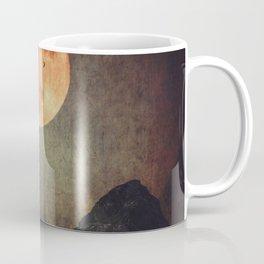 Moon over Dark Mountains Coffee Mug