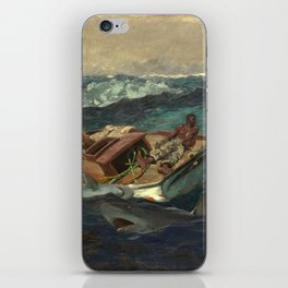 The Gulf Stream, by Winslow Homer iPhone Skin