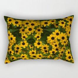 Brown Eyed Susans Rectangular Pillow