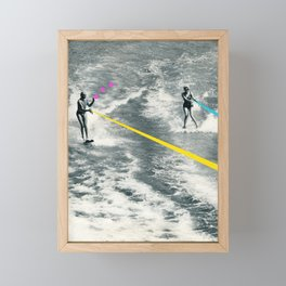 Competitive Strategy Framed Mini Art Print