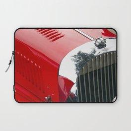Classic british red car Laptop Sleeve
