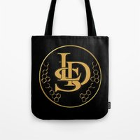 lsd Tote Bags featuring LSD by PsychoBudgie