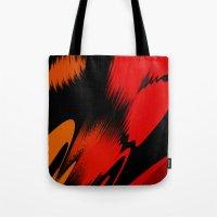 splatter Tote Bags featuring Splatter by ArtsandStyles