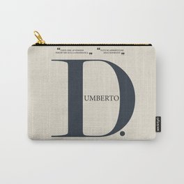 Umberto D, Vittorio De Sica, italian movie poster, neorealist film, neorealismo, cinema italiano Carry-All Pouch