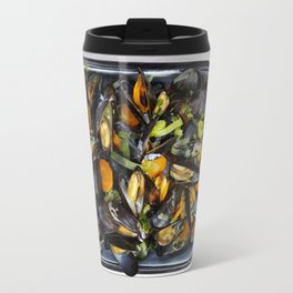 Cooked mussels Travel Mug