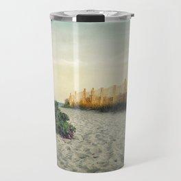 Beach Roses Travel Mug
