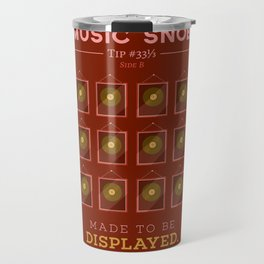 Made to be Displayed — Music Snob Tip #33⅓ B Travel Mug